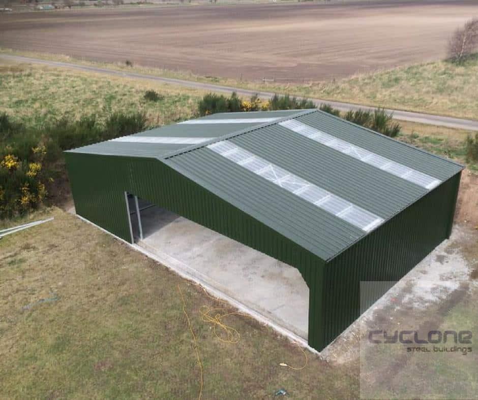 Steel Airfield Building
