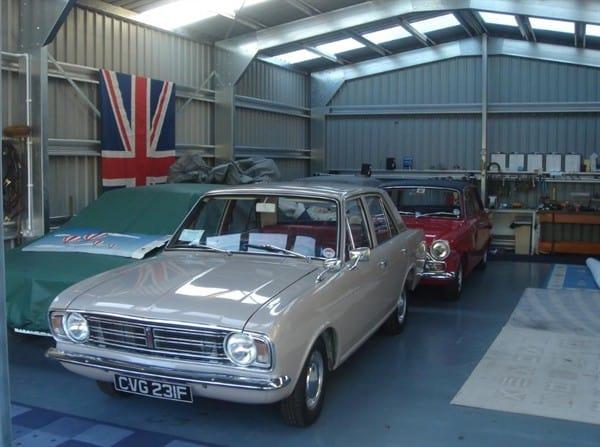 Classical Car Garage