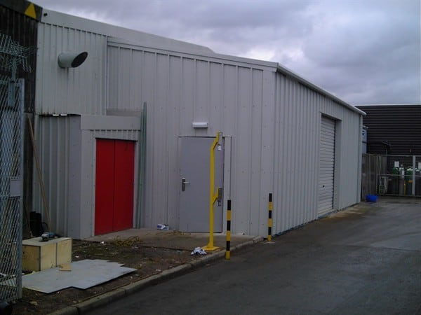 Warehouse Lean-to Steel building