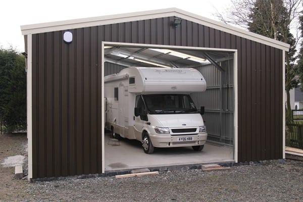 Motor Home Garage
