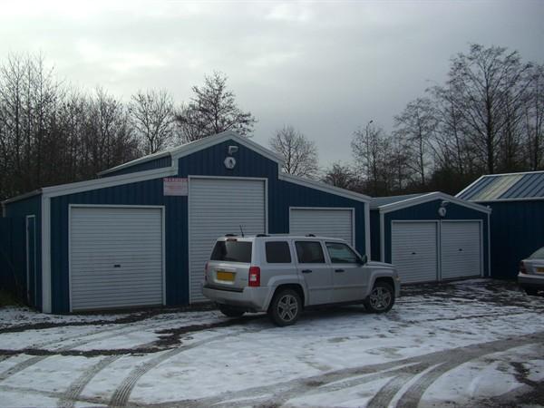 American Barn and Double Garage
