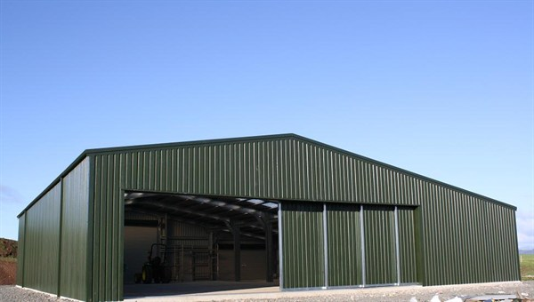 Industrial and Commercial steel Sliding Doors