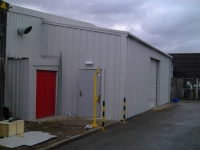 Industrial Lean-To Building
