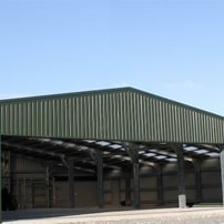 Bespoke Hangers and Warehousing from Cyclone Steel buildings